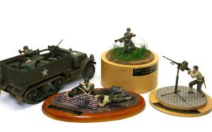 アメリカ歩兵・機関銃チーム 1/35 タミヤ