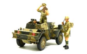 スカウトカー ダイムラーMk.2 のオマケの人形の塗装