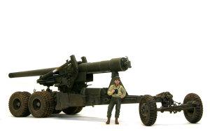 アメリカ・M59 155mmカノン砲ロング・トム 1/35 AFVクラブ