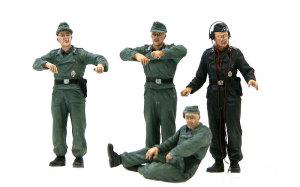 ドイツ・自走砲搭乗員セット 1/35 ミニアート