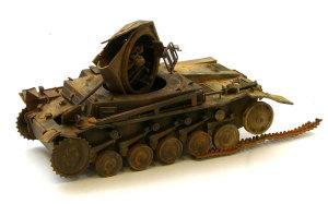 ドイツ・2号戦車F型 1/35 サイバーホビー