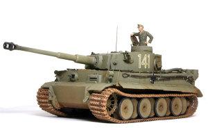 ドイツ重戦車・タイガー1極初期生産型 1/35 タミヤ
