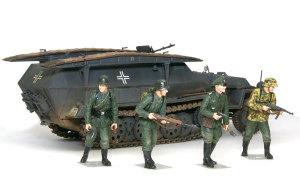 ドイツ・装甲工兵車Sd.kfz.251/7C型 1/35  ドラゴン