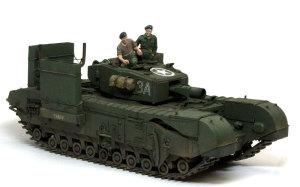 イギリス・歩兵戦車チャーチルMk.3工兵戦闘車 1/35 AFVクラブ