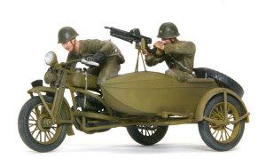 日本陸軍・九七式側車付き自動二輪車 1/35 アーマーモデリング