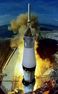 アポロ11号月着陸船 打ち上げ