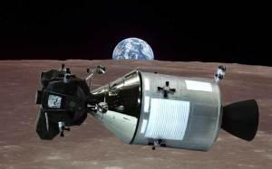 アポロ11号月着陸船 司令船にドッキングし乗り移る