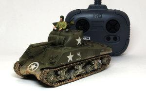 アメリカ中戦車・M4A3シャーマン(RC) 1/35 タミヤ