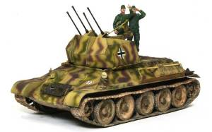 ドイツ・T-34対空戦車 1/35 サイバーホビー