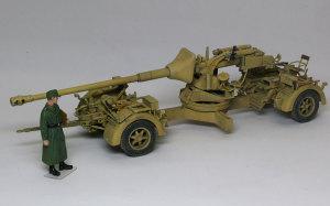 ドイツ・8.8cm対戦車砲Pak43/3 1/35 ドラゴン