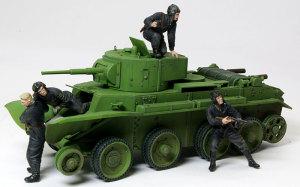 ソビエト戦車兵・脱出! 1/35 マスターボックス
