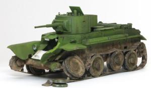 ソビエト・快速戦車BT-7 1/35 イースタン・エクスプレス