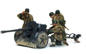 ドイツ・5cm対戦車砲Pak38 1/35 ドラゴン
