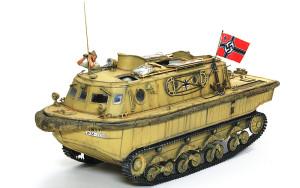 ドイツ・水陸両用牽引車(LWS)後期型 1/35 ブロンコ