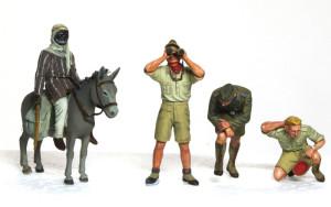 ドイツ戦車兵・アフリカ軍団 1/35 マスターボックス