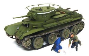 ソビエト戦車・BT-7 1935年型 1/35 タミヤ