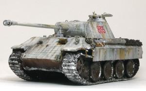 ドイツ・5号戦車パンターA後期型 1/35 ドラゴン