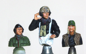 ドイツ戦車兵・雨天/寒冷地 塗装