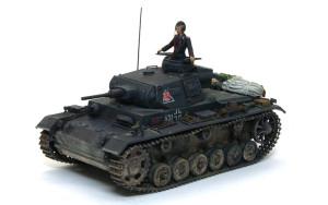 3号戦車J極初期型 1/35 サイバーホビー