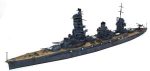 日本海軍・戦艦山城 1944年 1/700 アオシマ