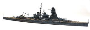 日本海軍・戦艦比叡 1/700 フジミ