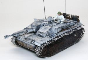 ドイツ・3号突撃砲F/8型 1/35 サイバーホビー