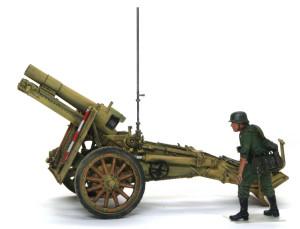 ドイツ・15cm重歩兵砲sIG33 1/35 AFVクラブ