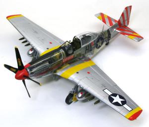 ノースアメリカン・P-51Dマスタング4 1/32 トランペッター