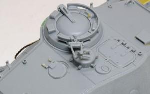 試作重戦車VK.45.02(P)H 換気扇の蓋にも蝶ねじ