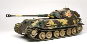 ドイツ・試作重戦車VK.45.02(P)H 1/35 サイバーホビー