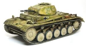 ドイツ・2号戦車F型 1/24 タスカ