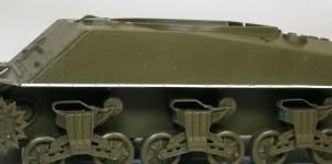 M4A3シャーマン 105mm榴弾砲搭載型 車体側面のディテールアップ