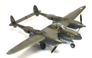ロッキード・P-38Gライトニング 1/48 ハセガワ