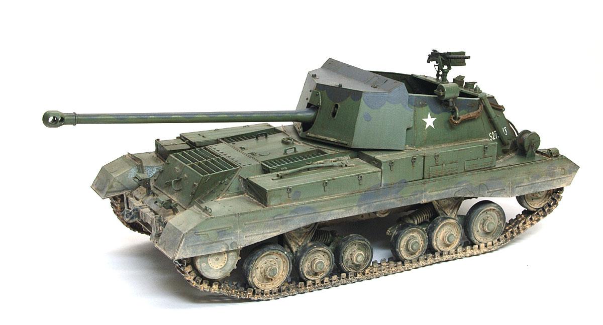 イギリス・17ポンド自走砲アーチャー 1/325 ブロンコ