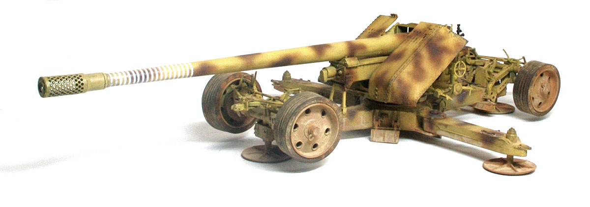ドイツ・12.8cm野砲K44[クルップ] 1/35 トランペッター