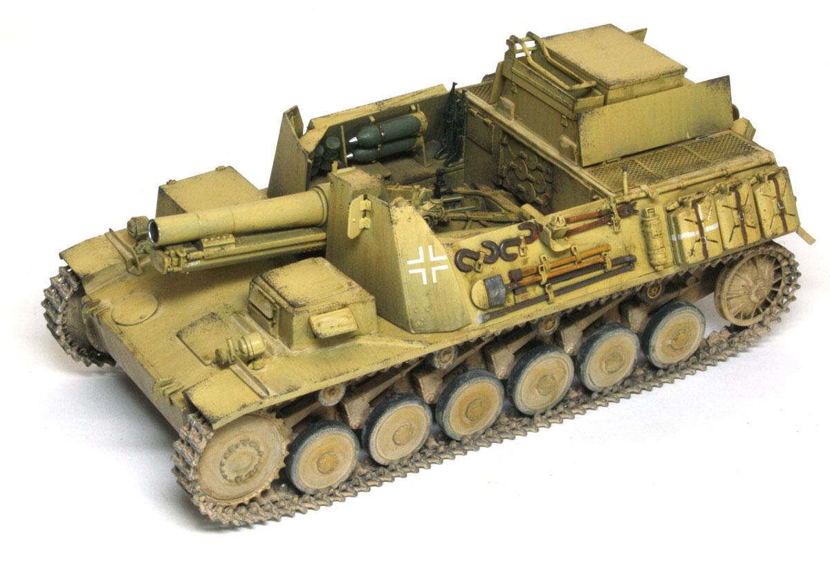 ドイツ・2号15cm自走重歩兵砲バイソン2