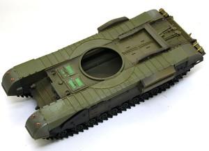チャーチルMk.3 フェンダーの取り付け