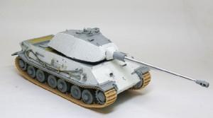 試作重戦車VK.45.02(P)V 組立て完了
