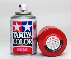 タミヤ TS-85 ブライトマイカレッド