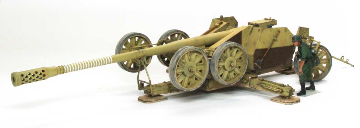 ドイツ・12.8cm野砲K44[ラインメタル]