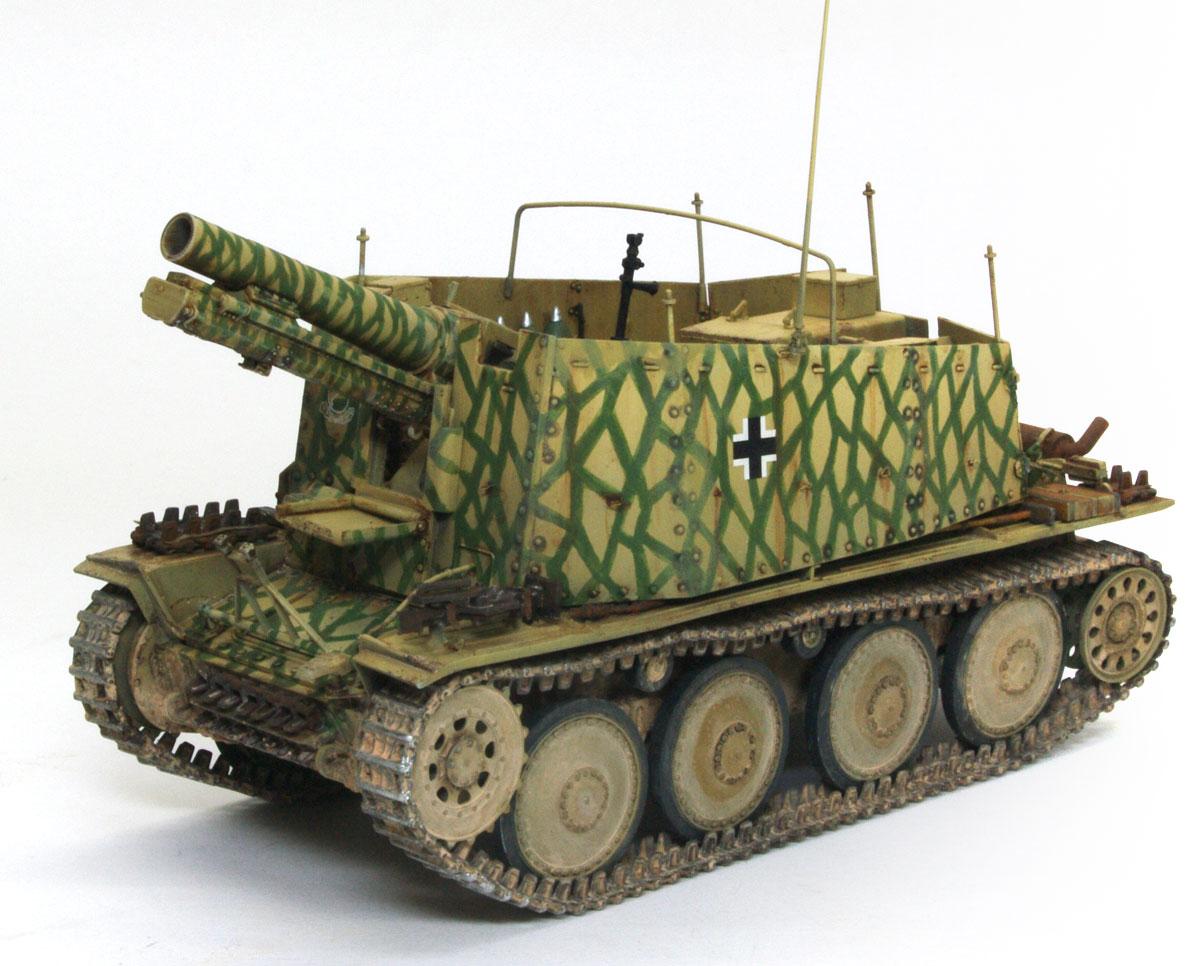 ドイル・38(t)自走重自走砲グリレH型 1/35 サイバーホビー
