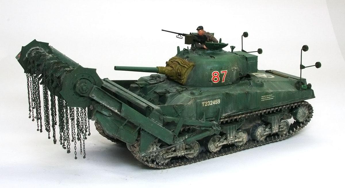 イギリス・対地雷戦車シャーマンクラブ