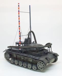 ドイツ・3号潜水戦車 あしか作戦 1/35 サイバーホビー