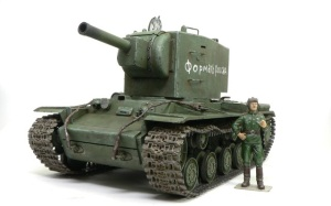 ソビエト重戦車・KV-2ギガント 1/35 タミヤ