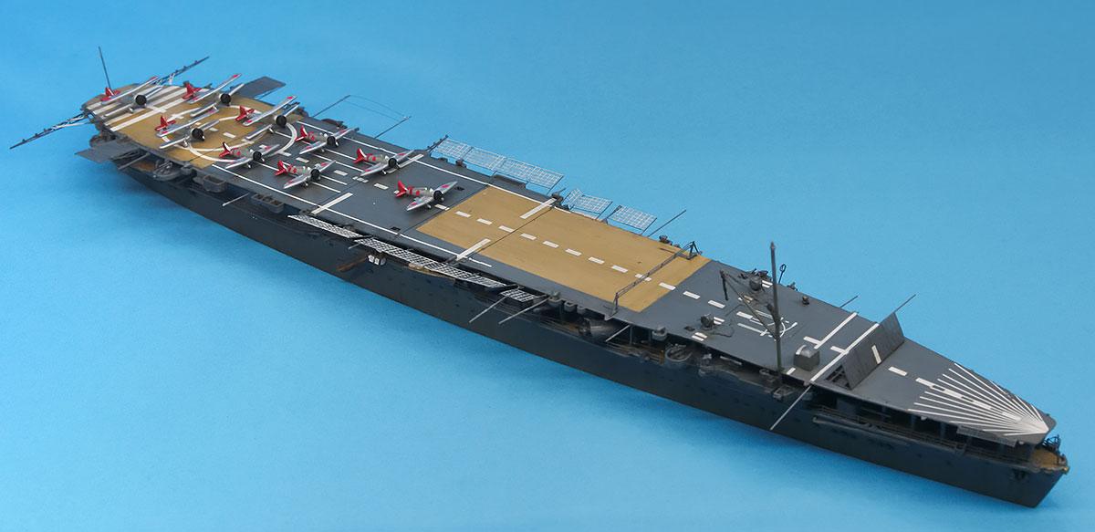 日本海軍・航空母艦 鳳翔 1/700 フジミ