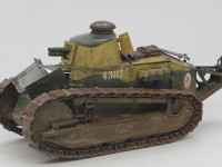 フランス軽戦車・ルノーFT鋳造砲塔 1/35 モンモデル