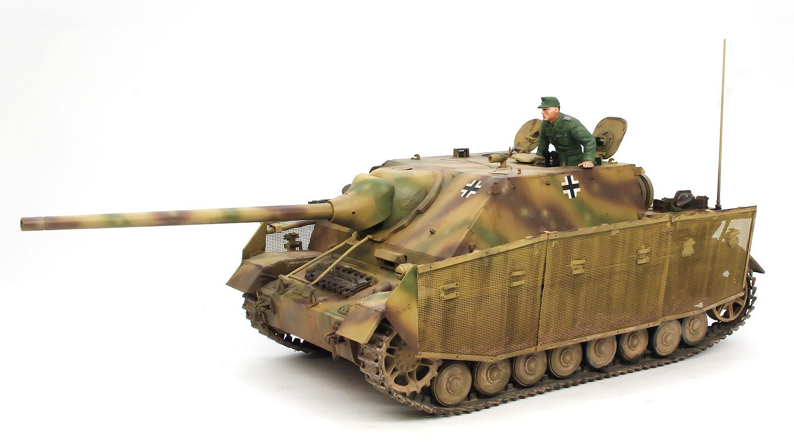 ドイツ・4号戦車L/70(A)ツヴィーシェン・レーズング 1/35 サイバーホビー