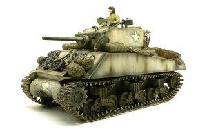 M4A3E2シャーマン・ジャンボ 1/35 タミヤ