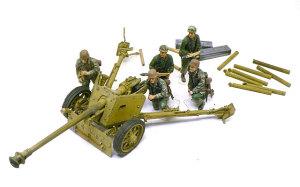 7.5cmPak40対戦車砲 後期型 1/35 ドラゴン