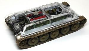 T-34/76 第112工場 履帯の取り付け